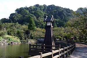 鹿野城跡公園