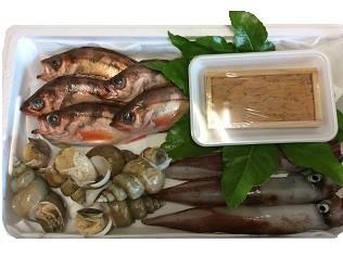 境港産魚介類詰め合わせセット